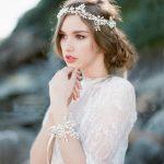 Elegant Tiara Hairwear Silver Pearl Headband Crystal Hair <b>Jewelry</b> Wedding Hair Accessories Romantic Bridal Head Chain Headdress