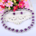 Bella Fashion Elegant Flower Bridal <b>Jewelry</b> Set Cubic Zircon Austrian Crystal <b>Necklace</b> Earrings Set For Wedding Party <b>Jewelry</b>
