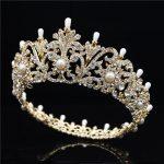 Pageant Tiara for <b>wedding</b> crown queen bridal Tiaras and Crowns Headband Prom dinner <b>Wedding</b> Hair Accessories hair <b>jewelry</b>