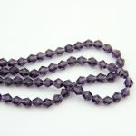 500-1000pcs Violet Crystal Bicone Beads 10mm Glass Bicone Loose Spacer Bead For <b>Jewelry</b> <b>Making</b> Home Decoration Wholesale