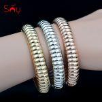 Sunny <b>Jewelry</b> Classic <b>Jewelry</b> Cuff Bangles Round Bracelets For Women Dubai Fashion <b>Jewelry</b> For Party <b>Wedding</b> <b>Jewelry</b> Findings