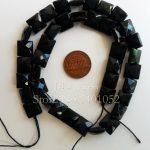 10mm Black Agates Onyx Square shape Faceted Loose beads DIY <b>Jewelry</b> <b>Making</b> Necklace Bracelet