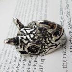 Rhinoceros Necklace for Men Women 316L Stainless Steel Pendant <b>Antique</b> Silver Biker <b>Jewelry</b> Wholesale Dropship