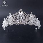 CC <b>Jewelry</b> crowns and tiaras crowns party hair ornaments <b>handmade</b> wedding hair accessories for crown women queen hairwear HG713