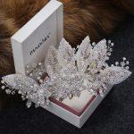 New <b>Wedding</b> hair accessories pearl <b>jewelry</b> hair clip ladies hair pins bridal tiaras cotton hair stick for women