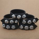 Factory Wholesale S925 <b>Sterling</b> <b>Silver</b> Personalized <b>Jewelry</b> Exquisite Retro Fashion Female Models Personalized Leather Bracelet