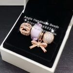 4pcs Rose Gold <b>Jewelry</b> Set Pink Murano Glass Bow Tie CZ Dangle Charms Beads Fit DIY Bracelet Necklaces <b>Jewelry</b> <b>Making</b> Woman Gift