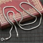 Dia 3mm Silver 925 Snake Cord Chain For <b>Necklace</b> Men Women 100% Real 925 Sterling Silver Material Top Craft <b>Jewelry</b> Tools