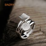Sinzry 2018 originally design Silver <b>jewelry</b> 100% <b>handmade</b> sterling silver geometry trendy rings for women <b>jewelry</b> gift