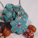 <b>Handmade</b> 925 Silver Nepalese Tibetan OM Mantra Pendant Necklace Tibetan Buddhist Klachakra Pendant Necklace Bohemia <b>Jewelry</b>