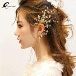 QUEENCO Bridal Tassel Earrings <b>Jewelry</b> Rhinestones Flower <b>Handmade</b> Crystal Wedding Accessories Earrings Women Patry <b>Jewelry</b>