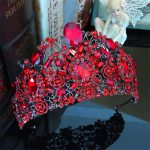 Vintage Crystal Baroque Queen Bridal Tiara Crown Headbands Women Diadem Hair Ornaments <b>Wedding</b> Bride Hair <b>Jewelry</b> Accessories