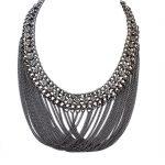 Black Choker Necklace Tassel Hiphop <b>Jewelry</b> <b>Native</b> <b>American</b> Necklace Personalized Pendant Chain Cheap Costume <b>Jewelry</b> 3 Colors