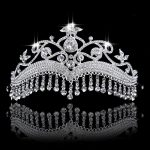 Bridal headdress Princess Crown tassel headband Prom Diadem Bride <b>Wedding</b> dinner Tiaras and Crowns hair <b>jewelry</b> accessories