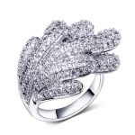 Rings elegant Party High quality Unique rings women CZ Fashion <b>jewelry</b> Free shipment Copper alloy Wedding <b>accessories</b> ring