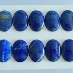 10 PCS,Lapis lazuli,<b>Fashion</b> gemstone cabochon bead,25x18x6mm/25x18x3mm,37.80g