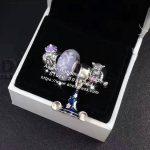 4pcs Fashion S925 Silver Tigger Blue Magic Hat Dangle Charms Beads <b>Jewelry</b> Set Fit Bracelet Necklaces <b>Jewelry</b> <b>Making</b> Woman Gift