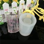 Silicone Pen Pot Cup Mold <b>Jewelry</b> <b>Making</b> Cube Resin Casting Mould Craft Tool