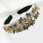 Baroque luxury rhinestone crystal headband for women bridal hair accessories <b>jewelry</b> runway bijoux retro headwear