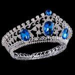 Bride tiara <b>Wedding</b> Crown Headdress for Women Headband Princess crowns and tiaras Head <b>Jewelry</b> Rhinestone Diadem King Crown