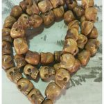 Buddhism Real Natural Tibet yak bone 108 hand string beads Skull Necklace The spirit of evil bone Kapala Man <b>Bracelet</b>