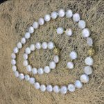 2018 11-12MM White Coin Pearl Necklace Bracelet Drop Earrings Sets Pearl Beads Fashion <b>Jewelry</b> <b>Making</b> Design Gold Magnetic Clasp
