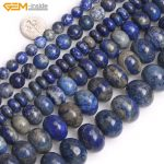 "Gem-inside Natural Stone Beads Rondelle Lapis Lazuli Beads For <b>Jewelry</b> <b>Making</b> Beads Bracelet 15"" DIY Beads Necklace"