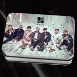 Youpop KPOP BTS Bangtan Boys V Suga Album WINGS LOMO Cards Self Made Paper Photo Card With Box HD Photocard