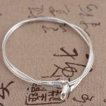 FNJ 45cm Torques Chain 3mm 925 <b>Sterling</b> <b>Silver</b> Necklace for Women Men <b>Jewelry</b> Thai S925 Solid <b>Silver</b> <b>Jewelry</b> Making
