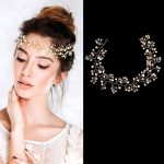 Women headband handmade hair ornaments pearl <b>jewelry</b> marriage crystal decoration Festival Gifts wedding party accessories milu