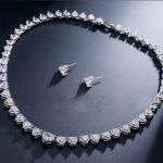 GODKI Women Luxury Bridal Full Mirco Pave AAA Cubic Zirconia <b>Necklace</b> Earring <b>Jewelry</b> Set