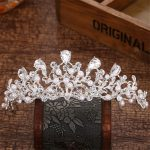 High Quality Crystal Pearl Tiaras and Crowns Wedding Hair Accessories for Brides Tiara Bridal Crown Hair <b>Jewelry</b> Ornaments