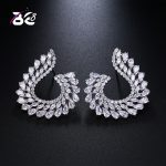 Be 8 2018 Luxury New Fashion Water Shape Statement Earrings, Fashion Cubic Zirconia Stud Earrings for Women <b>Wedding</b> <b>Jewelry</b> E505