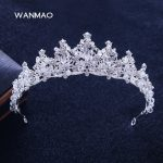 New bride high-grade gold glitter rhinestone crown tiara <b>wedding</b> <b>wedding</b> accessories female <b>jewelry</b> HD414