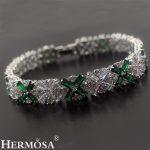 2 Colors Snowflake Stylish XMAS GIFT 925 Sterling <b>Silver</b> <b>Bracelet</b> 20cm Christmas Womens Jewelry Wholesale <b>Bracelets</b>