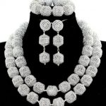 <b>Silver</b> Jewelry Set with 2 <b>Bracelets</b> and 2 Rings GS059
