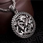 S925 Solid <b>Silver</b> Double Fish Pendant for Necklace Men <b>Jewelry</b> 100% Real 925 Sterling <b>Silver</b> Pendant HYP24