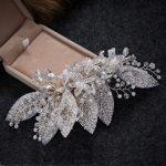<b>Handmade</b> Wedding hair accessories pearl <b>jewelry</b> crystal hair clip and pins bridal tiaras women stick hair accessorry for women