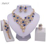 Fani Fashion African Beads <b>jewelry</b> set Brand Nigerian <b>Wedding</b> <b>Jewelry</b> Set Wholesale Dubai Gold-colorful Crystal <b>Jewelry</b> Set