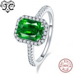 J.C Fine <b>Jewelry</b> 2.45ct Ruby & Emerald White Topaz For Women/Men Delicate Solid 925 <b>Sterling</b> <b>Silver</b> Ring Size 6 7 8 9