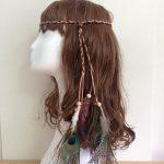 Accessories <b>Jewelry</b> Boho Weave Bird Feather Tassel Festival Headbands <b>Native</b> <b>American</b> Indian Hippie Headband Headdress Hair