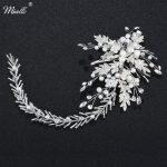 Miallo 2018 Newest Austrian Crystal Headbands Handmade Wedding Bride Hair <b>Jewelry</b> Accessories Flower Hair Vine Women Headpieces