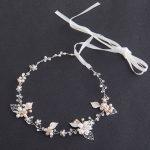 Fashion Silver Freshwater Pearls Headbands for Women Bridal Hair Accessories <b>Handmade</b> Crystal Hair <b>Jewelry</b> Wedding Headpiece