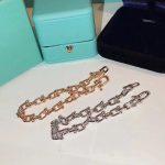 Brand Pure 925 Sterling Silver <b>Jewelry</b> For Women Rose Gold Link Chain Bracelet <b>Wedding</b> <b>Jewelry</b> Steam U shape Bracelet