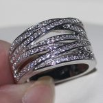 choucong Victoria Wieck 2017 New Women Fashion <b>Jewelry</b> 925 Sterling Silver White 5A CZ stones <b>Wedding</b> Band Rings Gift Size 5-11