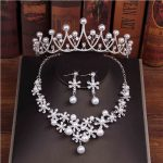8 Designs Silver and Gold Wedding Bridal <b>Jewelry</b> Sets Girl/Women Pageant Prom Crystal Wedding Bride <b>Jewelry</b> <b>Accessories</b> Sets