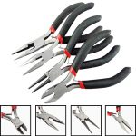 NK MIXTOS1 Set 4pcs Mixed Tooth Needle Round Nose Pliers Tool Kit for <b>Jewelry</b> <b>Making</b> Tools