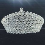Bridal <b>Wedding</b> Tiaras and Crowns Sliver Hair Crown Cubic Zirconia Large Crown for Women Hair <b>Jewelry</b> Accessories Wholesale