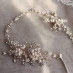 <b>Fashion</b> Gold Silver Rhinestone Hair Vine Bridal Headband Accessories Pearls Wedding <b>Jewelry</b> Hair Ornaments Women hairwear