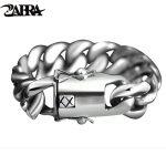 ZABRA 205 Gram Wide Luxury Solid 925 <b>Silver</b> Big Heavy Bracelet Men Link Chain Punk Domineering Biker Bracelets Man <b>Jewelry</b>